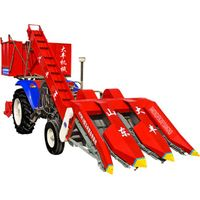 4YW-3 Tractor Mounted on Corn Harvester