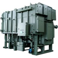 Single Effect Double Lift Hot Water Driven Absorption Chiller