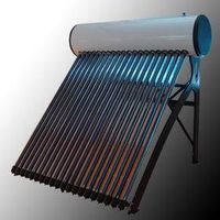 Colored Steel Compact Pressurized Solar Water Heater thumbnail image