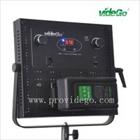 videGo high CRI 95 bi-color DMX 512 control 30*30cm 1*1 led video light panel