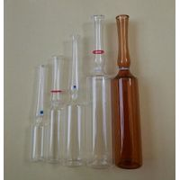 Clear amber ampoules Made of Borosilicate Glass