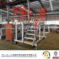 Moveable aluminum work platform for industry