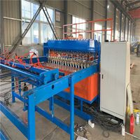 Heavy pneumatic mesh welding machine