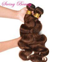 100% Virgin Brazilian Natural Human Hair Weaving Extension
