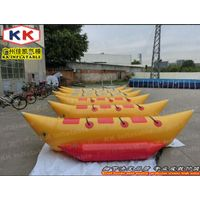 3 Persons Inflatable Leisure Banana Boat Water Game inflatable floating boats thumbnail image