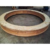 Turntable bearing slewing ring bearing with external gear teeth RKS.061.30.1904 thumbnail image
