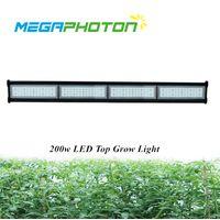 Megaphoton Waterproof IP66 200w 4ft Top Led Grow Light Greenhouse thumbnail image