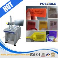 POSSIBLE New design for plastic seals laser printing machine