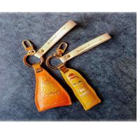Leather Handcraft Key ring holder