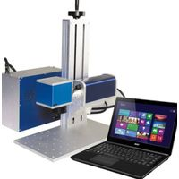 Desktop Fiber Laser Marking Machine for Electronic & Communication Products, Auto parts,handcrafts