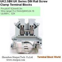 Din-rail Terminal Wire arrage:0.2-10mm2 Part