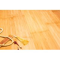 Natural and Carbonized Plain Pressed Bamboo Flooring