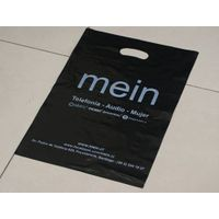 custom shopping/packing plastic bag with handle