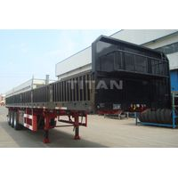 3 axle side wall open semi trailer | TITAN
