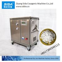 sida factory price of full auto small dry ice pellet maker machine 30kg/h thumbnail image