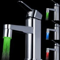 ABS basin faucet LED waterfall faucet for bathroom and kitchen thumbnail image