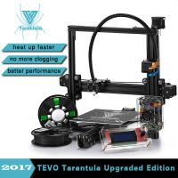 3D Printer Kits TEVO Tarantula I3 Aluminium Extrusion 3D Printer kit 3d printing 2 Rolls Filament 8G