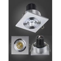 Modern Square High Brightness CE RoHS Approved COB 5W LED Ceiling Lamp