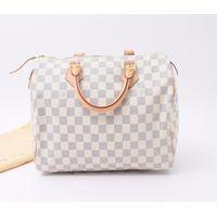 Used designer Brand Handbag LOUIS VUITTON N41533 Speedy 30 Damier Azur handbags for Bulksale.