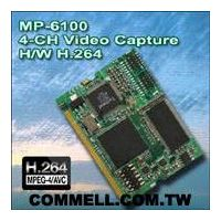 MP-6100 COMMELL Mini-PCI H.264 DVR card