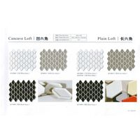 Ceramic Mosaic tile for 1 pack Cancave Loft