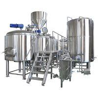 Commercial Beer Brewing Equipment for beer brewery beer factory
