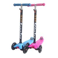 Tri wheel kick scooter for children