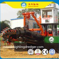 China 4000m³ Sand Mining Dredger