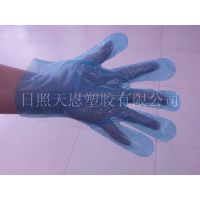 Plastic material gloves hot sale