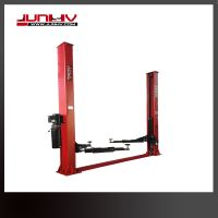 Useful car lifting machine with 2 sides manual release