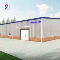 Economical and easy installation Steel Structure PPGI Workshop Prefab light steel frame building