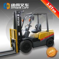 High Performance 3 Ton Diesel Forklift With ISUZU C240 Engine