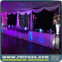 High quality and best price!!pipe and drape kit /round for photobooth decoration made in China