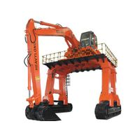 Crawler type hydraulic excavator