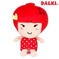 cute strawberry shaped girl toy