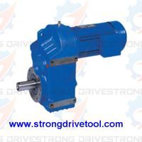 F series parallel shaft geared motor