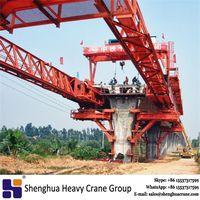 Segmental underslung launching gantry equipment crane