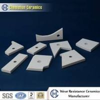 Designed Engineered ceramics for mining cyclone chute equipment