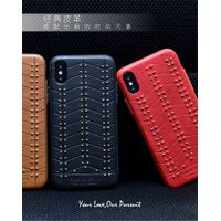 PULOKA high quality mobile accessories leather phone case for iphone x 7 S9 thumbnail image
