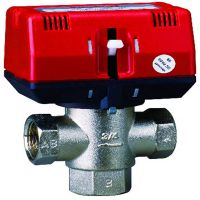 3 Way Thermostatic Brass Motorized Valves (CKF3320)