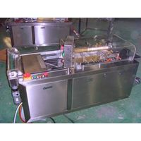 Semi-automatic cellophane overwrapping machine thumbnail image