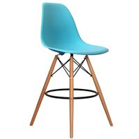 Wholesale Plastic PP Kitchen DSW High Bar Stool Bar Chair