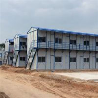 Fast build low cost light steel frame prefabricated house