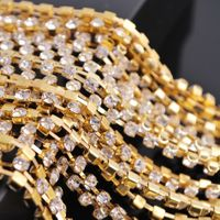 AAA Quanlity cup chain rhinestone rhinestone crystal stone chain