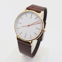 OEM analog design classic slim wrist watch