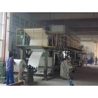 customized single/double side art paper coating machine