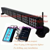 remote control multifunction strobe LED light bar