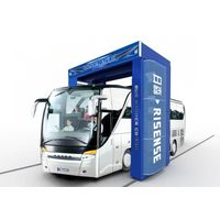 automatic bus and truck wash machine