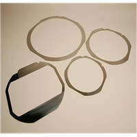 """DISCO 6"""" 8"""" 12"""" Metal Wafer Frame Ring For Semiconductor thumbnail image"""