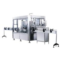 3-in-1 rinser filler capper monobloc filling bottling machine